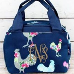 Handbags - ROSY ROOSTERS INSULATED LUNCH BAG